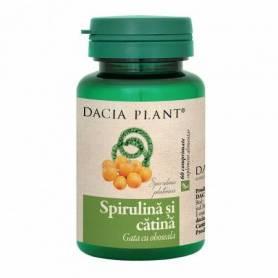 Spirulina si Catina 60cps - Dacia Plant