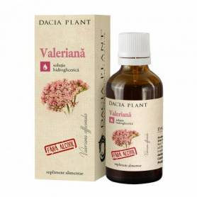 Tinctura de Valeriana fara alcool 50ml - Dacia Plant