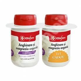 VF Anghinare si Magneziu Organic 30+30cps - Dacia Plant