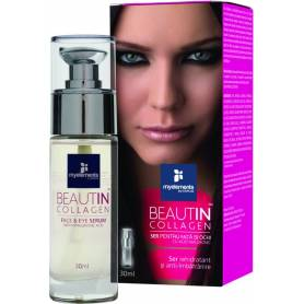 BEAUTIN COLLAGEN ser fata si ochi 30ml