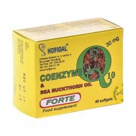 Coenzima Q10 Forte in ulei de catina 40cps - Hofigal