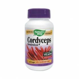 CORDYCEPS SE 500mg 60cps veg - Natures Way - Secom