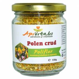 Polen crud poliflor, 130g - APIVITALIS