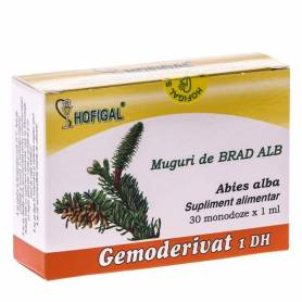 Gemoderivat Muguri Brad Alb 30mdz - Hofigal
