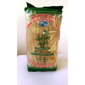 Taitei de orez lati L fara gluten 400g BAMBOO TREE