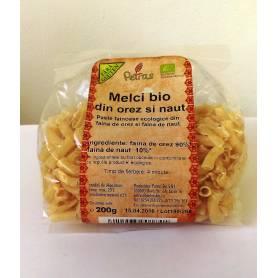 Melci din orez si naut ECO-BIO fara gluten 200g - Petras