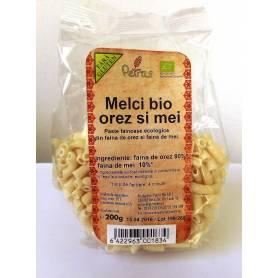 Melci din orez si mei ECO-BIO fara gluten 200g - Petras