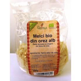 Melci din orez alb ECO-BIO fara gluten 200g - Petras