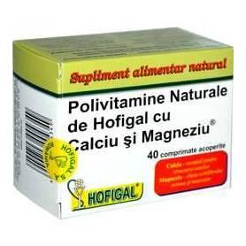 Polivitamine Calciu Magneziu 40cps - Hofigal