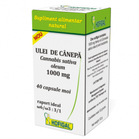 Ulei Canepa 1000mg 40cps - Hofigal