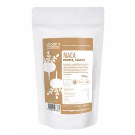 Maca pulbere raw eco-bio 200g - Dragon Superfoods