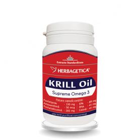Krill Oil Supreme Omega 3 30cps - Herbagetica