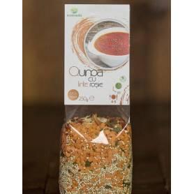Quinoa cu linte rosie 250g - Ecotravio
