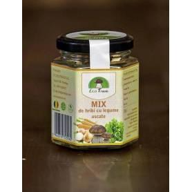 Mix de hribi cu legume uscate 35g - Ecotravio
