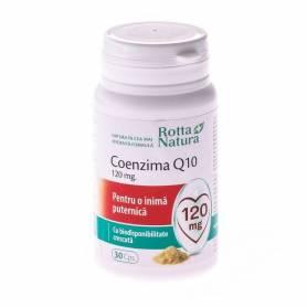 Coenzima Q10 120mg 30cps - Rotta Natura