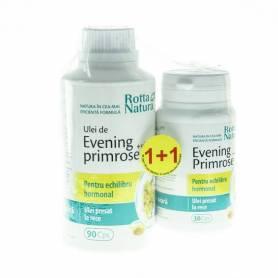 Evening Primrose Vitamina E 90+30cps - Rotta Natura