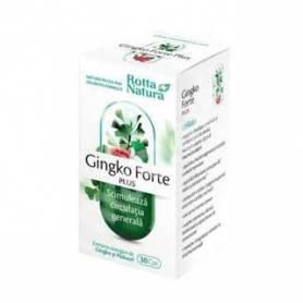 Ginkgo Forte Plus 30cps - Rotta Natura