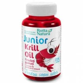 Krill Oil Junior 30 Jeleuri Gumate - Rotta Natura