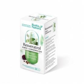 Resveratrol forte + Coenzima Q10 30cps - Rotta Natura