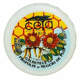 Unguent cu galbenele, propolis si muguri de plop, 20g - CETA