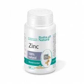 Zinc natural 30cps - Rotta Natura