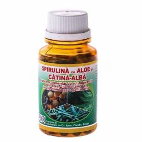 Spirulina Aloe Catina Alba 60cps - Hypericum