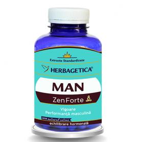 Man Zen Forte 30cps - Herbagetica