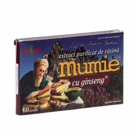 Mumie Rasina Ginseng 60cpr - Damar General