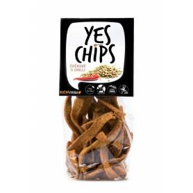 Chips vegan de linte cu chili 80g - Yes Chips