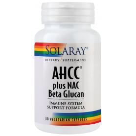 AHCC plus NAC&Beta Glucan 30tb - Solary
