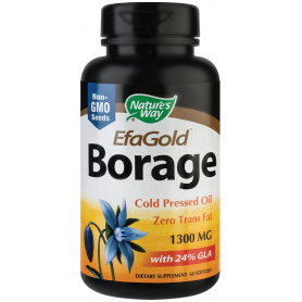 Borage EfaGold 1300mg 60tb - Nature's Way - Secom