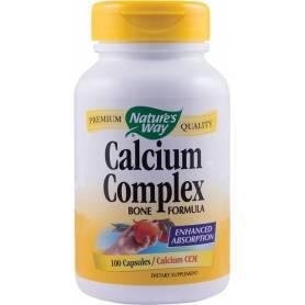 Calcium Complex Bone Formula 100tb - Nature's Way - Secom