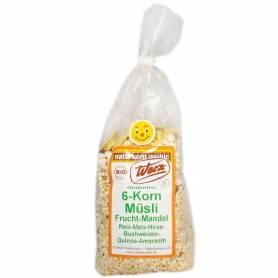 Muesli 6 cereale cu fructe si migdale 250g - eco-bio - fara gluten - WERZ