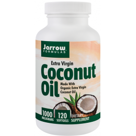 Coconut Oil Extra Virgin 1000mg 120tb - Jarrow Formulas - Secom