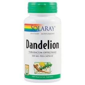 Dandelion (Papadie) 520mg 100tb - Solaray - Secom