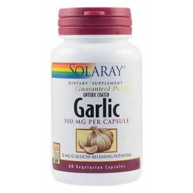 Garlic (Usturoi) 500mg 60tb - Solaray - Secom