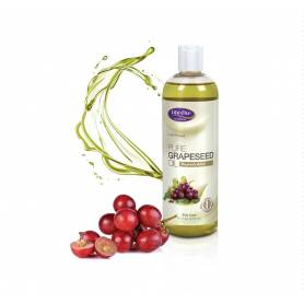 Grapeseed Pure Oil(ulei samburi de struguri) 473ml - Life Flo - Secom