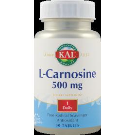 L-Carnosine 500mg 30tb - KAL - Secom