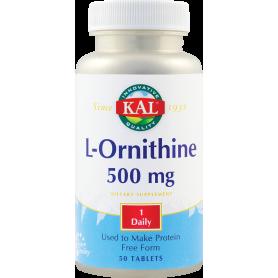 L-Ornithine 500mg 50tb - KAL - Secom