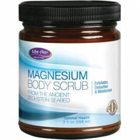 Magnesium body scrub 266ml - Life Flo