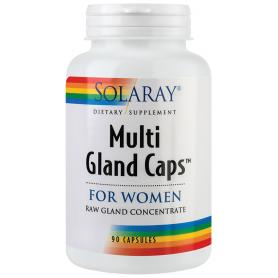 Multi Gland Caps For Women 90tb - Solaray - Secom