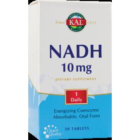 NADH 10mg 30tb - KAL - Secom