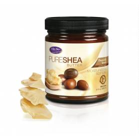 Shea Pure Butter(unt de shea pur) 266ml - Life Flo - Secom