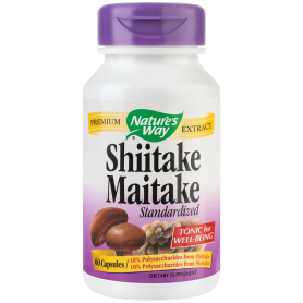 Shiitake Maitake SE 60tb - Nature's Way - Secom