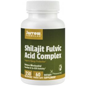 Shilajit Fulvic Acid Complex 250mg 60tb - Jarrow Formulas - Secom