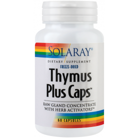 Thymus Plus Caps 60tb - Solaray - Secom