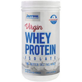Virgin Whey Protein Isolate 450g - Jarrow Formulas - Secom