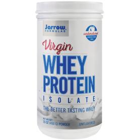 Virgin Whey Protein Isolate 450g - Jarrow Formulas - Secom