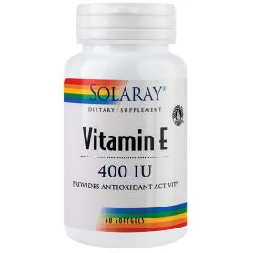 Vitamin E 400UI 50tb - Solaray - Secom