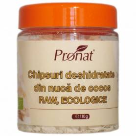 Fulgi (chips) de cocos RAW eco-bio 110g - PRONAT